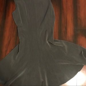 Gray Flare Dress